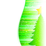Christmas tree. Celebratory abstract background, preparation for the designer Stock Photography
