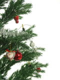 CHRISTMAS TREE. Isolated on white Stock Photo
