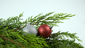 Christmas, Tree. Christmas Festive Season Objects in a Christmas tree Stock Photography