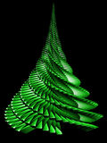 Christmas Tree. Abstract 3D Render Stock Photos