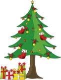 Christmas tree. Christmas, christmas festival, holiday Stock Photography