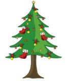Christmas tree. Christmas, christmas festival, holiday Royalty Free Stock Photography