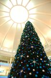 Christmas tree. Christmas decoration in a shopping mall Royalty Free Stock Photos