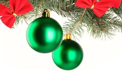 The Christmas tree Royalty Free Stock Photography