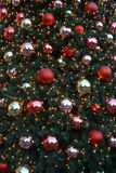 Christmas tree. Colorful Christmas tree with beautiful lights Royalty Free Stock Images