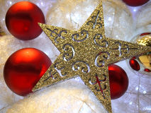 Christmas Tree. A beautifully decorated Christmas tree Royalty Free Stock Photos