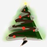 Christmas tree. Beautiful Christmas tree that with beautiful design Royalty Free Stock Photos