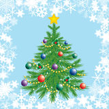 Christmas tree. Royalty Free Stock Photography