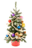 Christmas tree. Isolated on white background Royalty Free Stock Photography