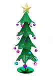 Christmas tree. Isolated on a white background Royalty Free Stock Photos
