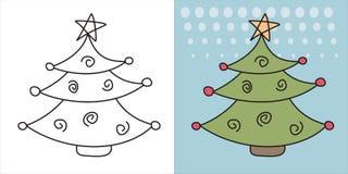 Christmas tree 2 Royalty Free Stock Photos