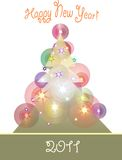 Christmas tree 2 Stock Image