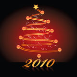 Christmas tree 2010 Stock Photo