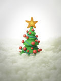 Christmas tree 2011 Royalty Free Stock Photography