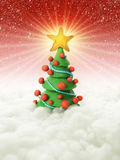 Christmas tree 2011 Royalty Free Stock Images