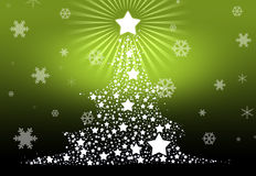 Christmas tree 2013 background. A happy and prosperous New Year 2013 Stock Illustration