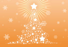 Christmas tree 2013 background Stock Images