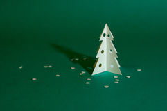 Christmas tree. / template / paper / 12 Stock Photography