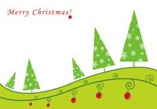 Christmas tree. Christmas background with Christmas trees Royalty Free Stock Photos