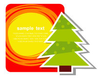 Christmas Tree. Holiday Background With Christmas Tree Royalty Free Stock Image