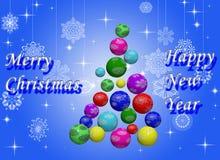 Christmas tree. Royalty Free Stock Photos