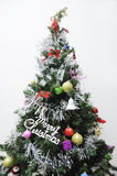 Christmas tree. With Christmas decoration and spruce Stock Photography