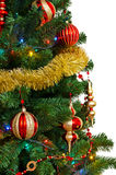 Christmas tree. Isolated on a white background Stock Photo