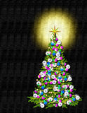 A Christmas Tree royalty free stock photography