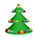 Christmas tree Stock Photo