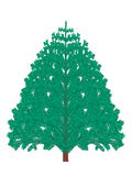 Christmas tree stock images