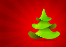 Christmas tree. Royalty Free Stock Images