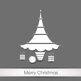 Christmas tree.  Royalty Free Stock Photo
