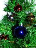 Christmas tree. Green christmas tree with balls royalty free stock photography