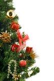 Christmas tree. On a white background Stock Photos