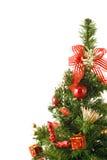 Christmas tree. On a white background Royalty Free Stock Photos