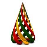 Christmas tree 3d Stock Image