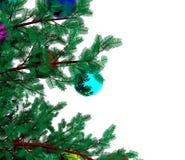Christmas tree - 3D Stock Image