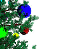 Christmas tree - 3D Royalty Free Stock Image