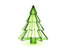 Christmas tree 3d Stock Images