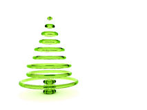Christmas tree 3d Royalty Free Stock Images
