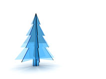 Christmas tree 3d Royalty Free Stock Photography