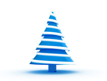 Christmas tree 3d Stock Photography