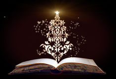 Christmas tree. Appear from the book Royalty Free Stock Photography