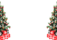 Christmas tree. Isolated on white background Stock Photography