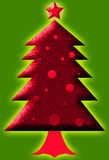 Christmas tree. The christmas tree design for christmas day Royalty Free Stock Photography