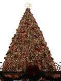 Christmas Tree. A huge christmas tree in the mall royalty free stock images