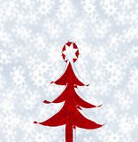 Christmas-tree Royalty Free Stock Photo