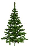 Christmas tree. Christmas tree isolated on white Royalty Free Stock Photography