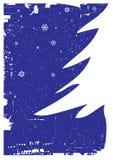 Christmas tree. Vector illustration of a christmas tree Royalty Free Stock Photography