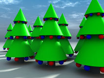Christmas Tree 9 Royalty Free Stock Photos